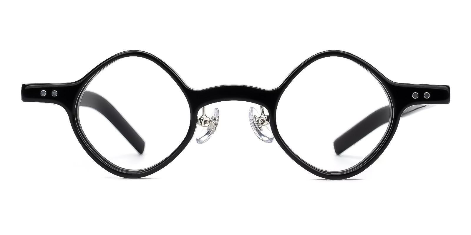 Winni Black TR Eyeglasses , Fashion , NosePads Frames from ABBE Glasses