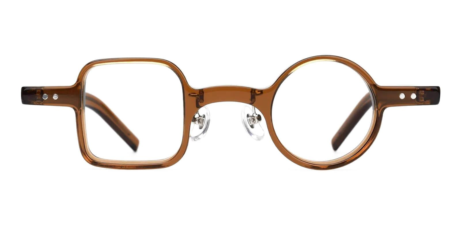 Trendiary Brown TR Eyeglasses , Fashion , NosePads Frames from ABBE Glasses
