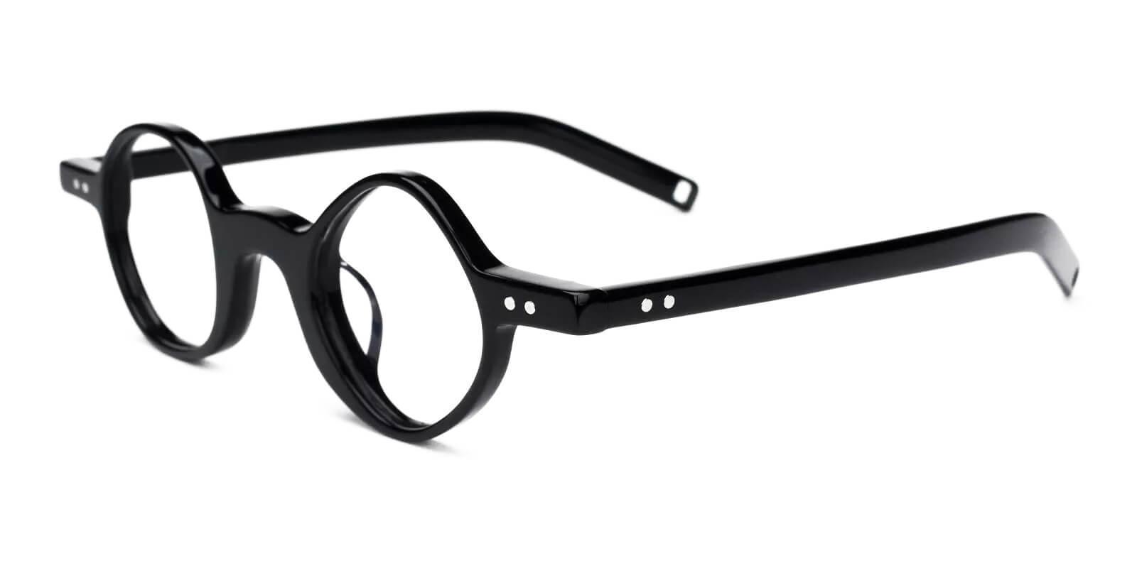 Tersaki Black TR Eyeglasses , Fashion , NosePads Frames from ABBE Glasses