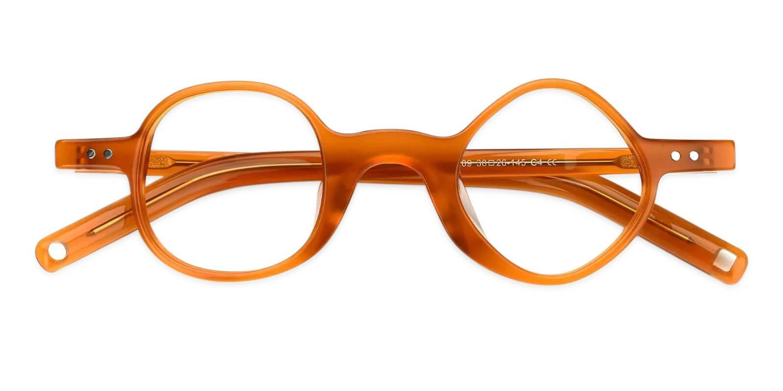 Tersaki Orange TR Eyeglasses , Fashion , NosePads Frames from ABBE Glasses