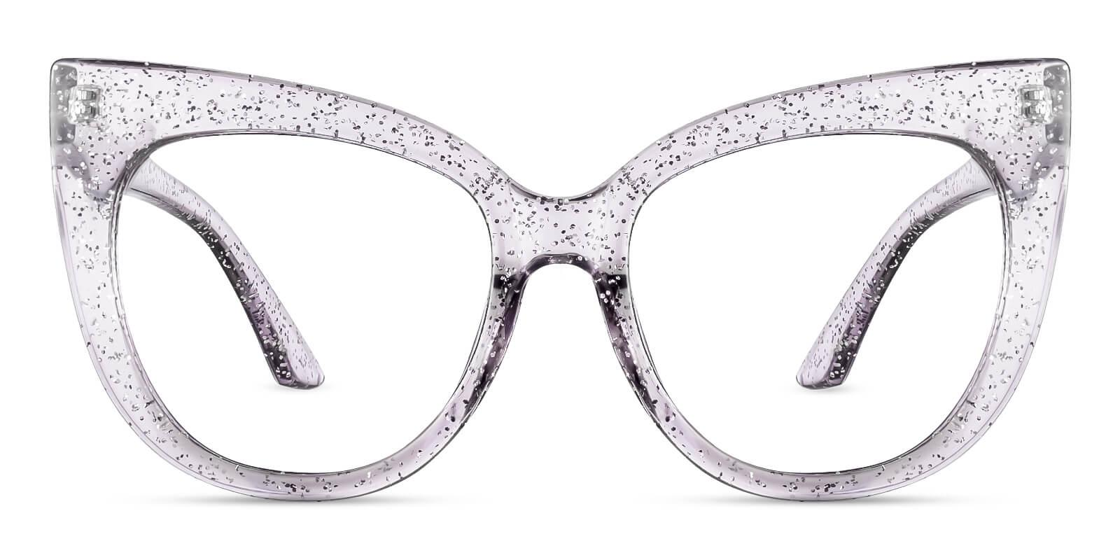 Aerial Purple Plastic Eyeglasses , Fashion , UniversalBridgeFit Frames from ABBE Glasses