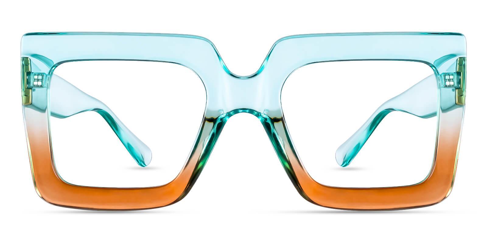 Kairo Green Plastic Eyeglasses , Fashion , UniversalBridgeFit Frames from ABBE Glasses