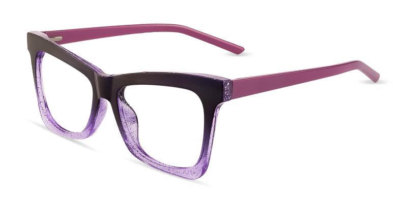 Purple Focal - TR ,Universal Bridge Fit