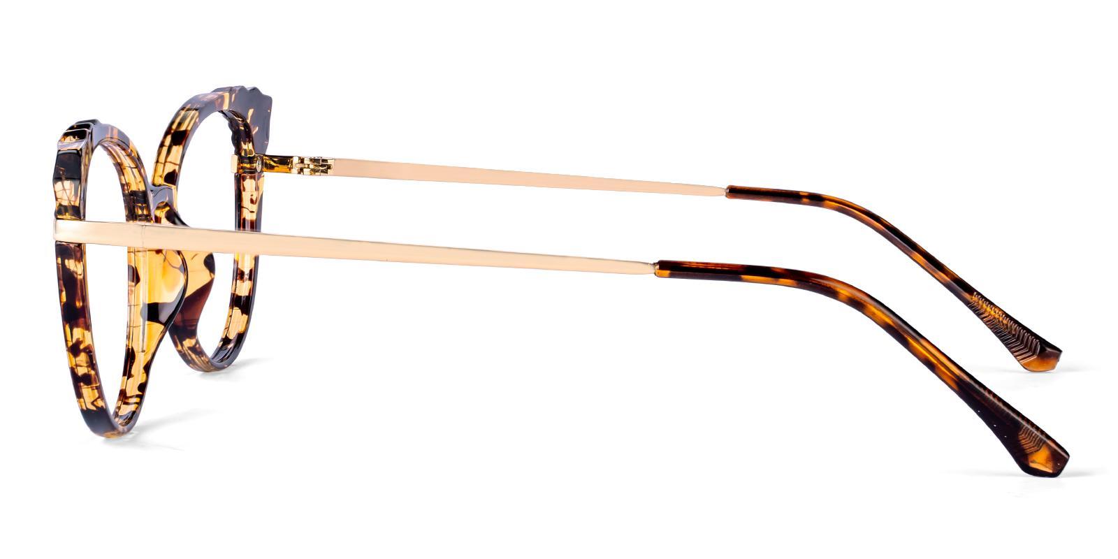 Iconic Tortoise Combination Eyeglasses , Fashion , SpringHinges , UniversalBridgeFit Frames from ABBE Glasses