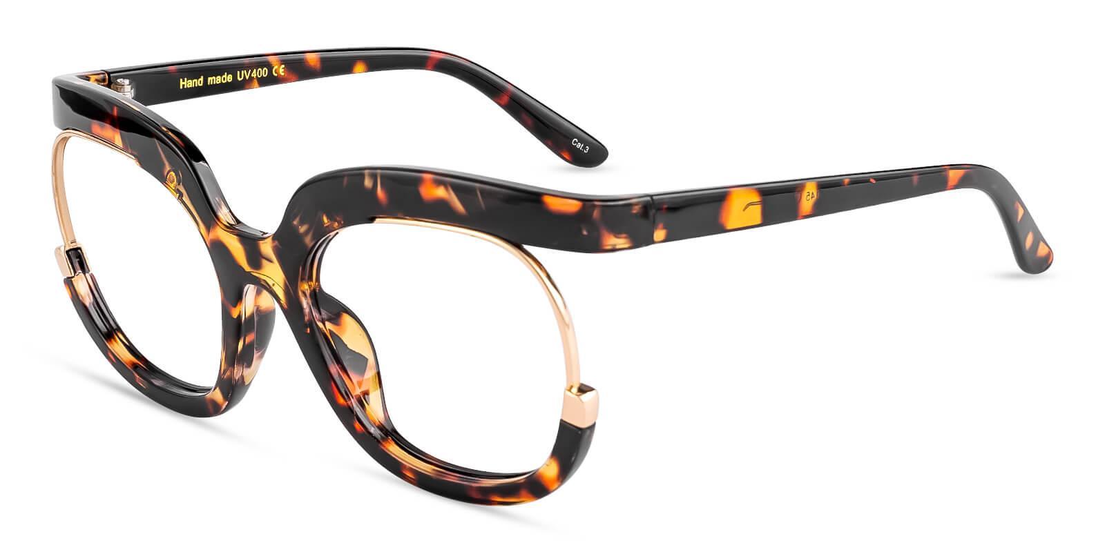 Johnson Tortoise Plastic Eyeglasses , Fashion , UniversalBridgeFit Frames from ABBE Glasses