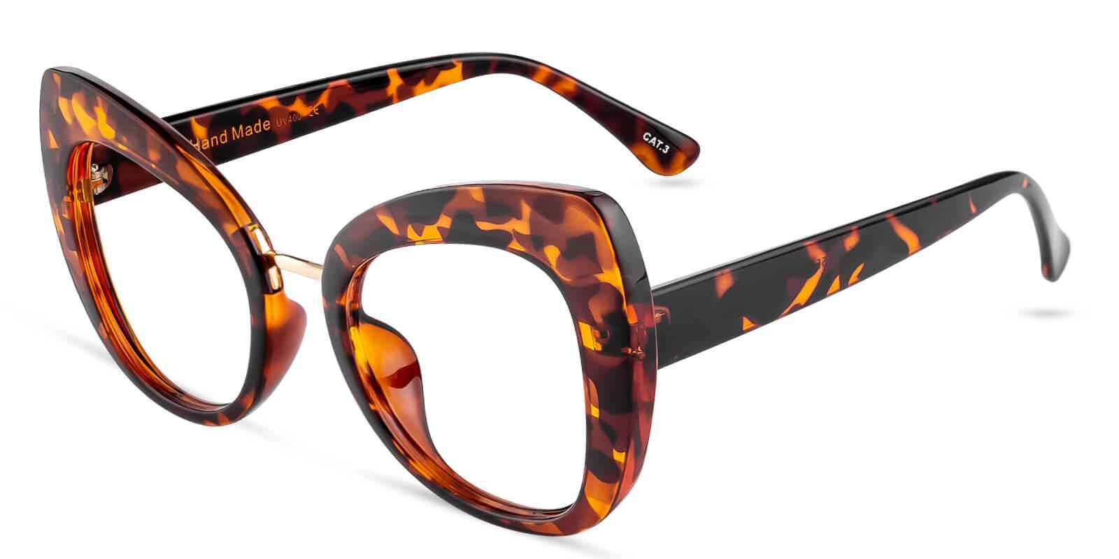 Volition Leopard Plastic Eyeglasses , Fashion , UniversalBridgeFit Frames from ABBE Glasses