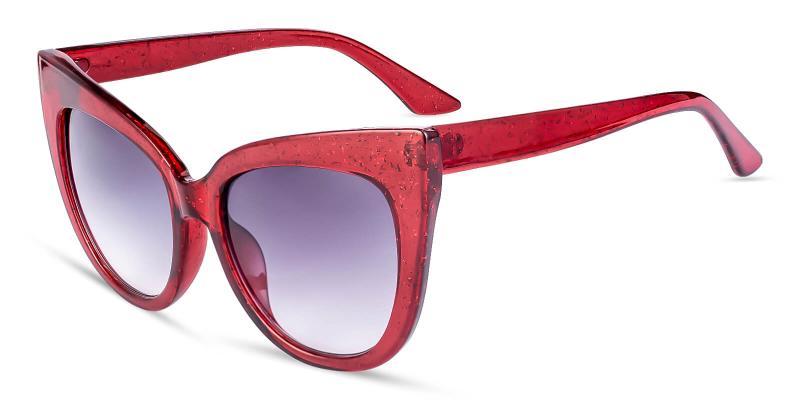 Red Daikon - Plastic ,Sunglasses