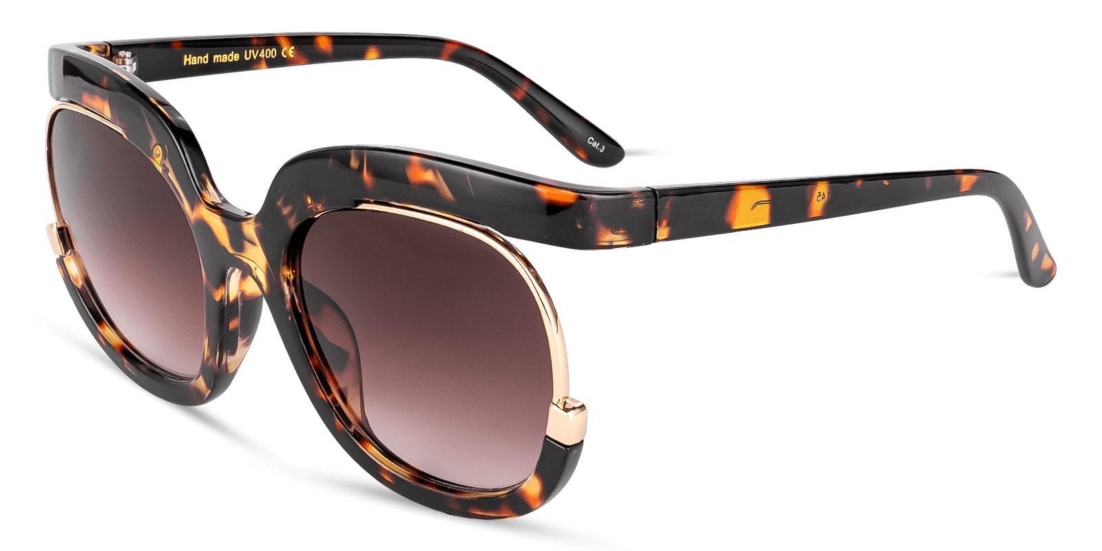 Samba Tortoise Plastic Fashion , Sunglasses Frames from ABBE Glasses