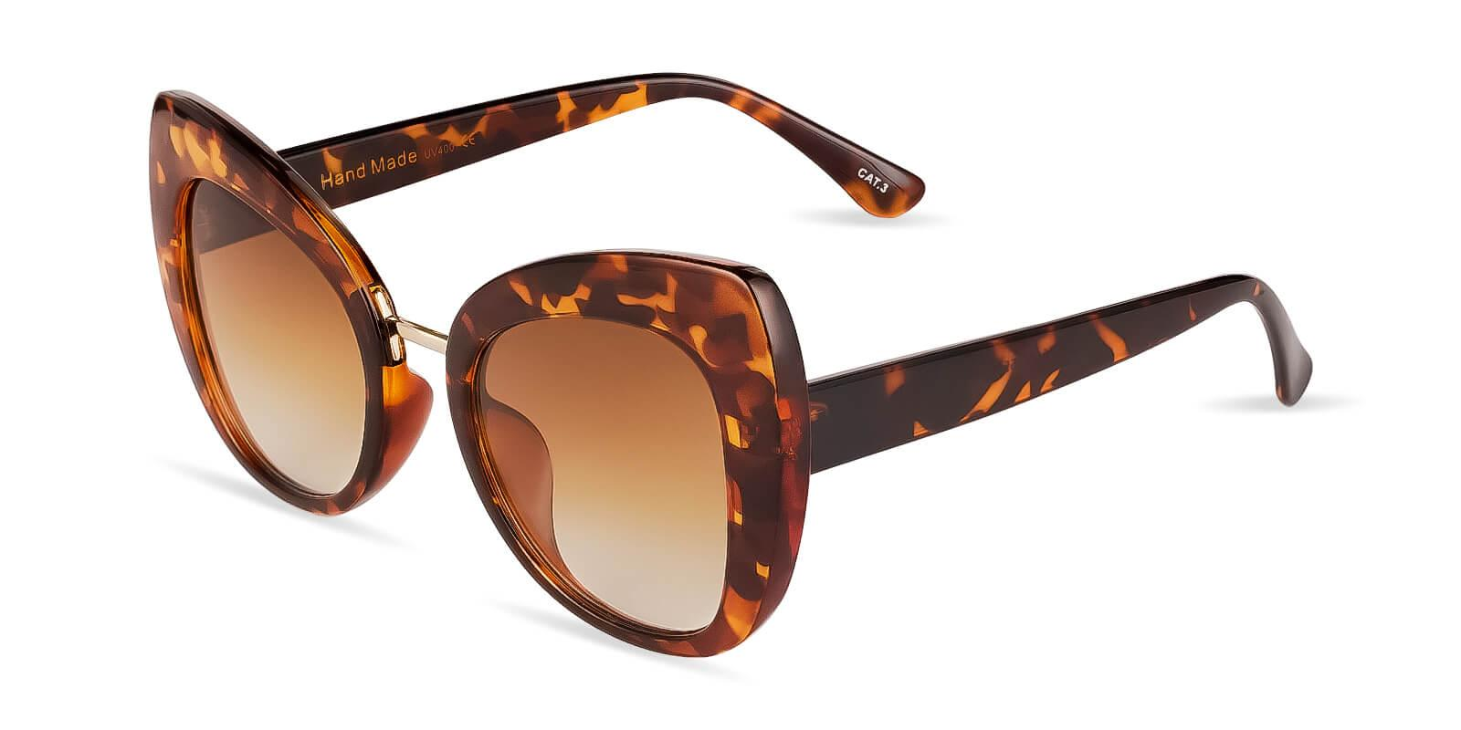 Safari Leopard Plastic Fashion , Sunglasses Frames from ABBE Glasses