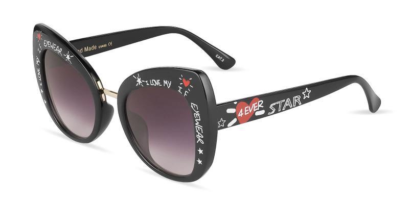 Black Borneo - Plastic ,Sunglasses