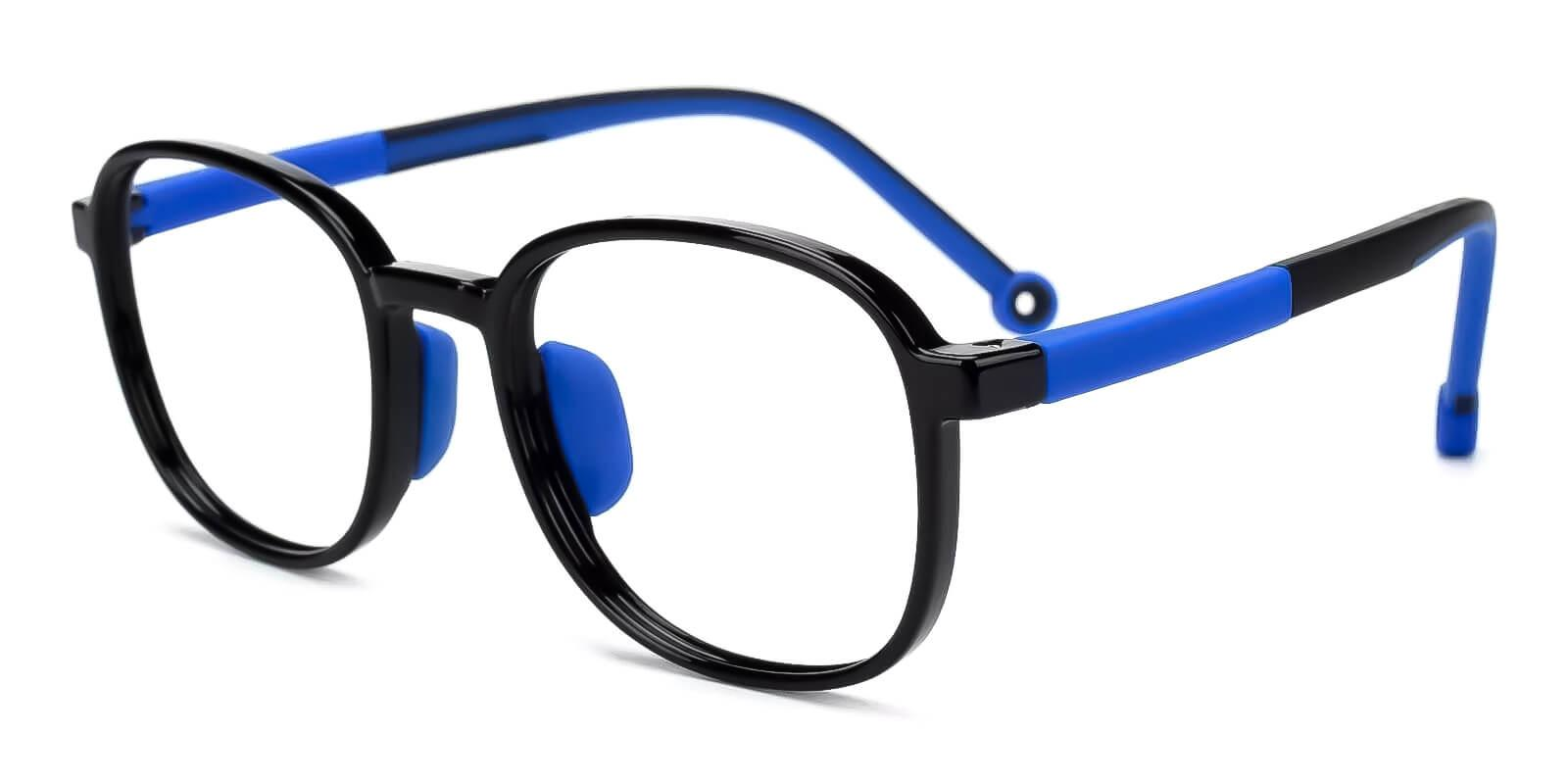 Kids-Astute Black TR Eyeglasses , Fashion , UniversalBridgeFit Frames from ABBE Glasses