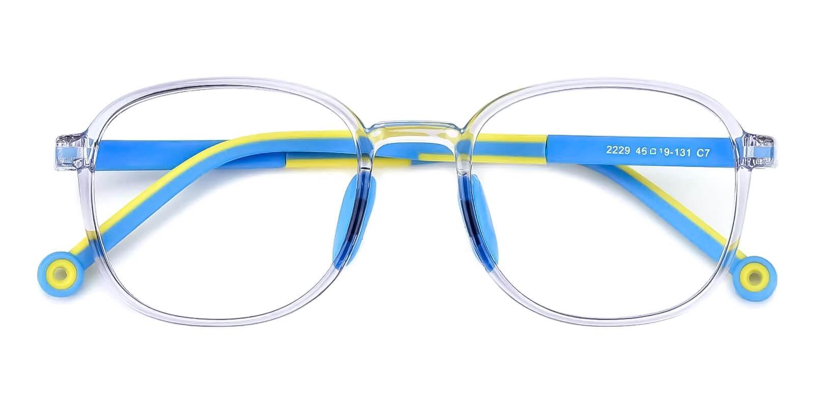 Kids-Astute Translucent TR Eyeglasses , Fashion , UniversalBridgeFit Frames from ABBE Glasses