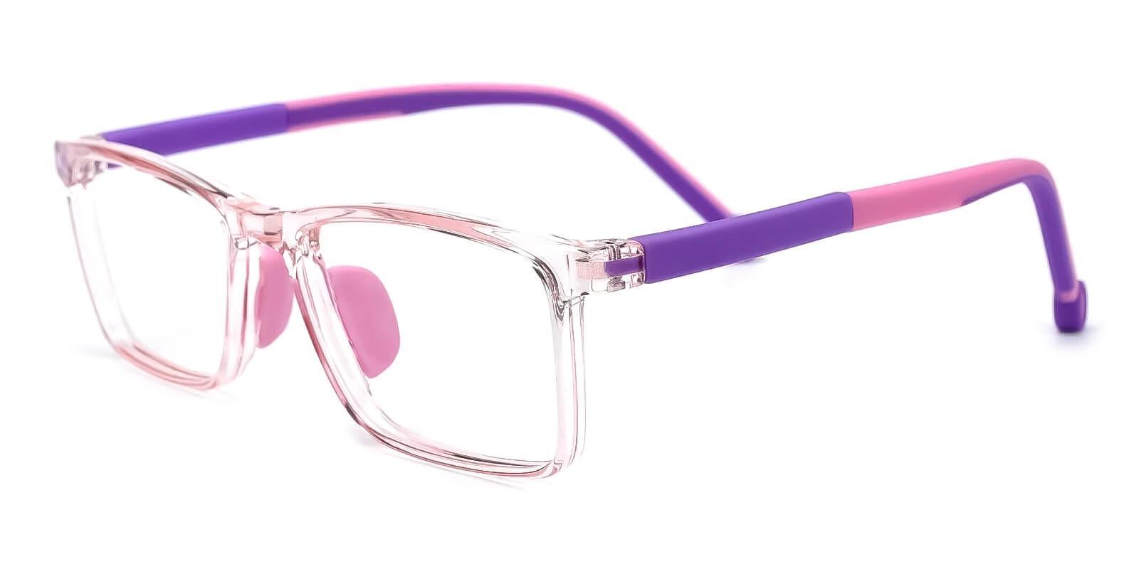Kids-Rapture Pink TR Eyeglasses , Fashion , UniversalBridgeFit Frames from ABBE Glasses