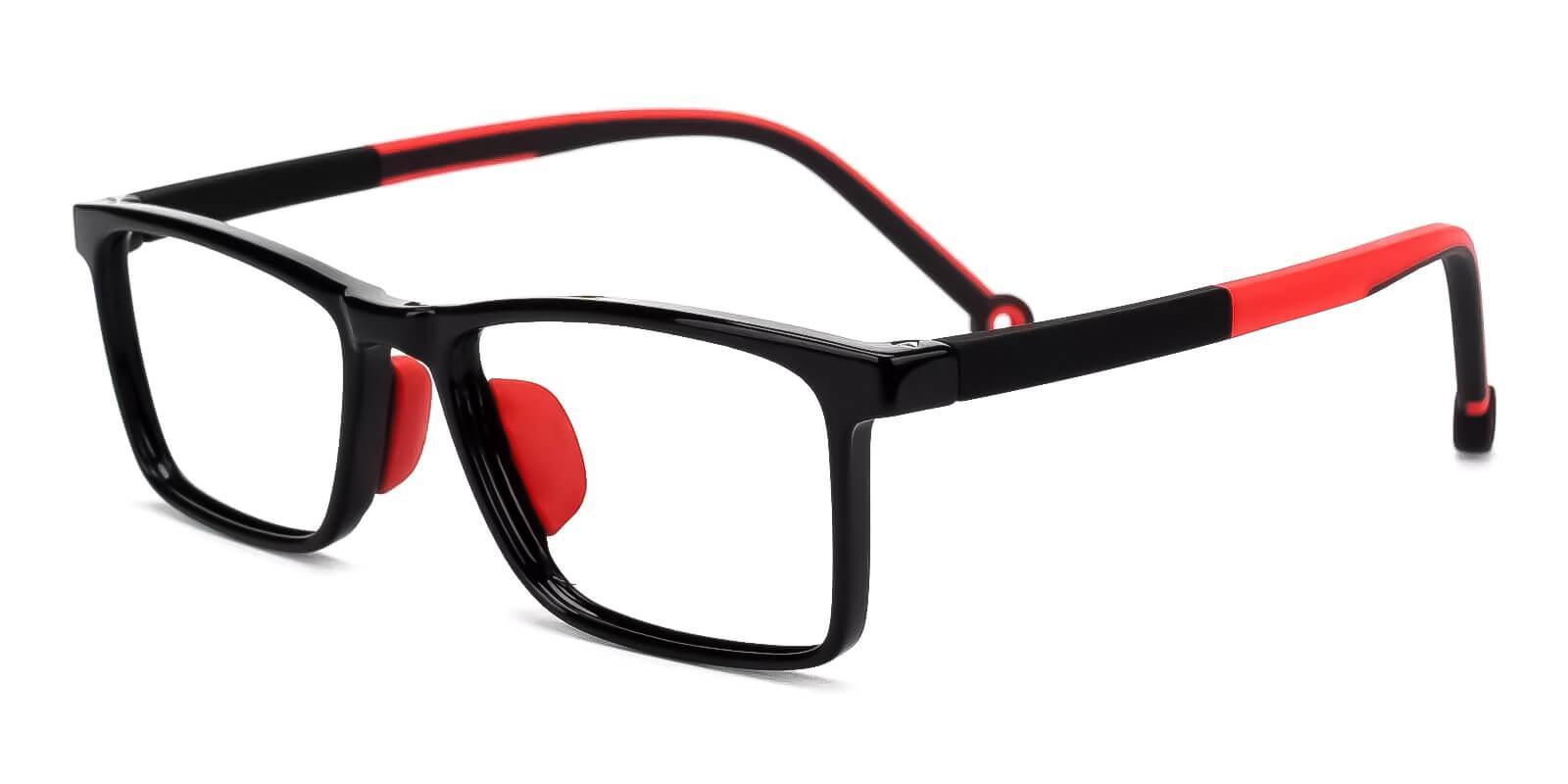 Kids-Rapture Red TR Eyeglasses , Fashion , UniversalBridgeFit Frames from ABBE Glasses