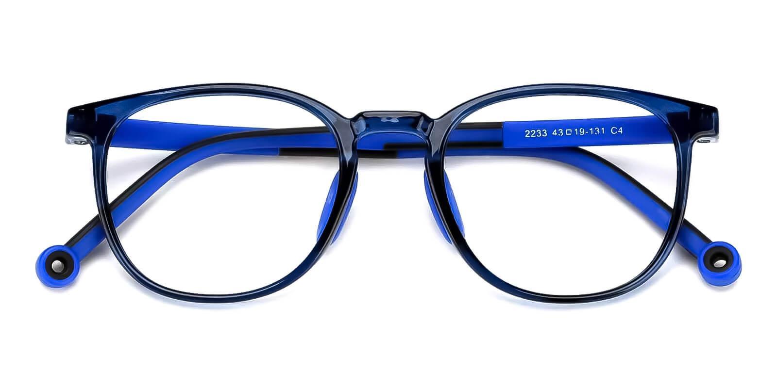 Kids-Trenta Blue TR Eyeglasses , Fashion , UniversalBridgeFit Frames from ABBE Glasses