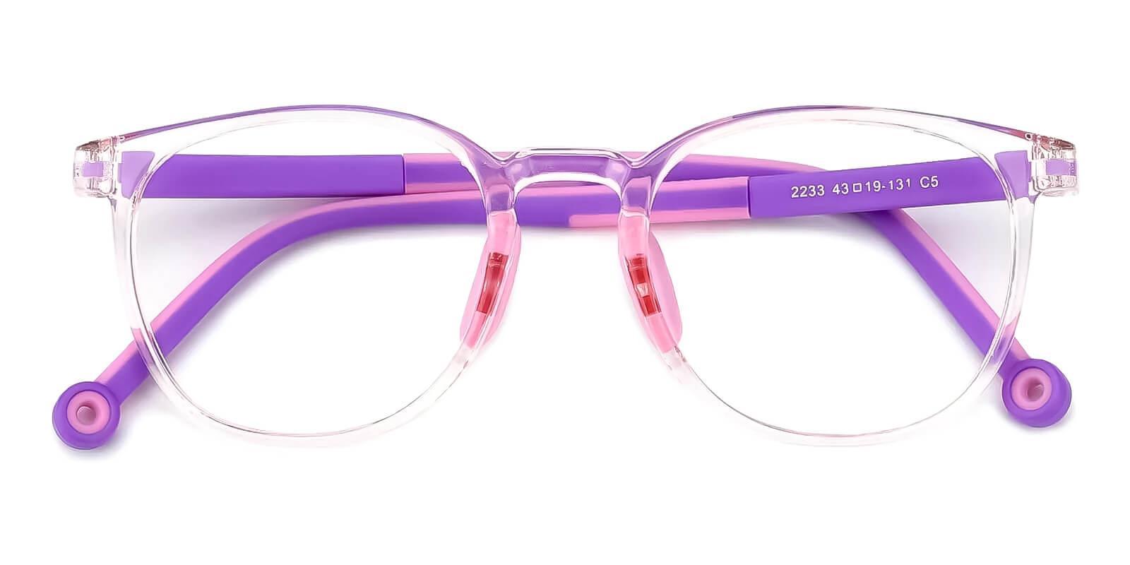 Kids-Trenta Pink TR Eyeglasses , Fashion , UniversalBridgeFit Frames from ABBE Glasses