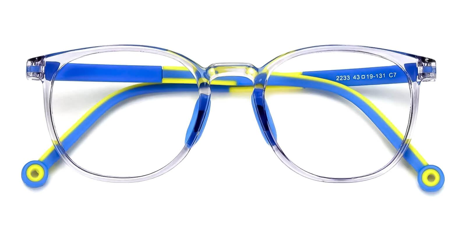 Kids-Trenta Translucent TR Eyeglasses , Fashion , UniversalBridgeFit Frames from ABBE Glasses