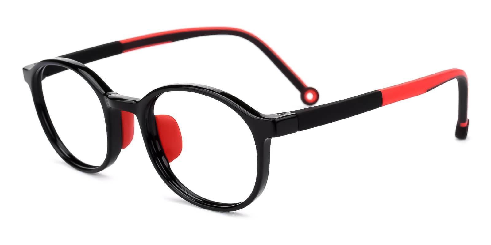Kids-Exquisite Black TR Eyeglasses , Fashion , UniversalBridgeFit Frames from ABBE Glasses