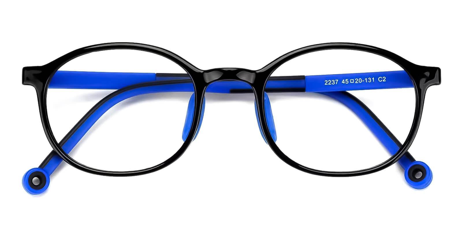 Kids-Exquisite Blue TR Eyeglasses , Fashion , UniversalBridgeFit Frames from ABBE Glasses