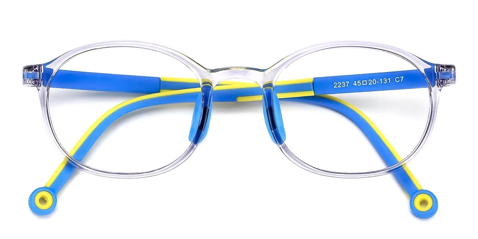 Kids-Exquisite Translucent TR Eyeglasses , Fashion , UniversalBridgeFit Frames from ABBE Glasses
