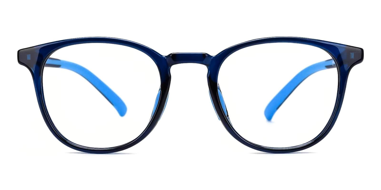 Kids-Experience Blue Plastic Eyeglasses , Fashion , UniversalBridgeFit Frames from ABBE Glasses