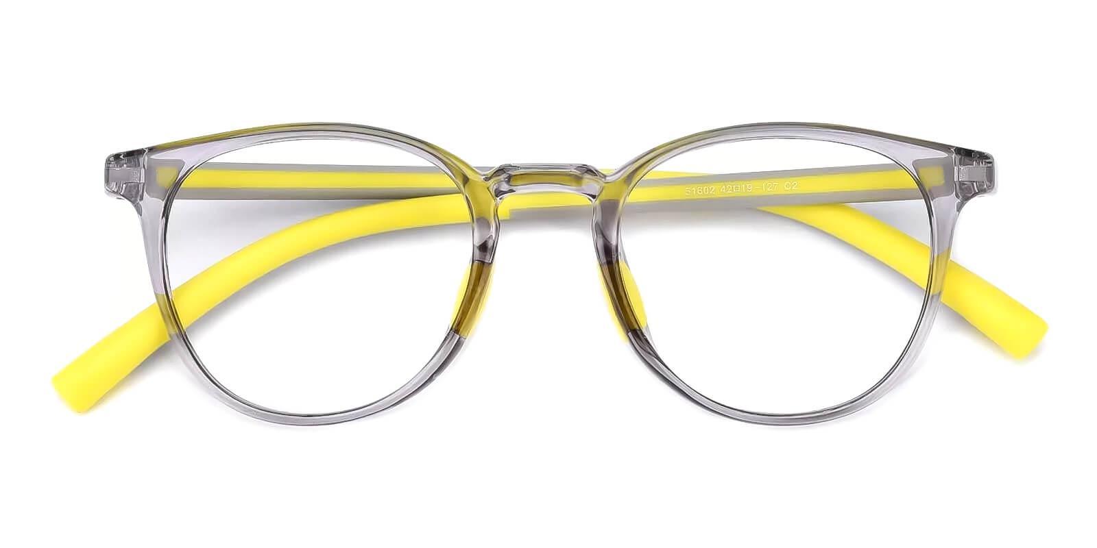 Kids-Experience Gray Plastic Eyeglasses , Fashion , UniversalBridgeFit Frames from ABBE Glasses