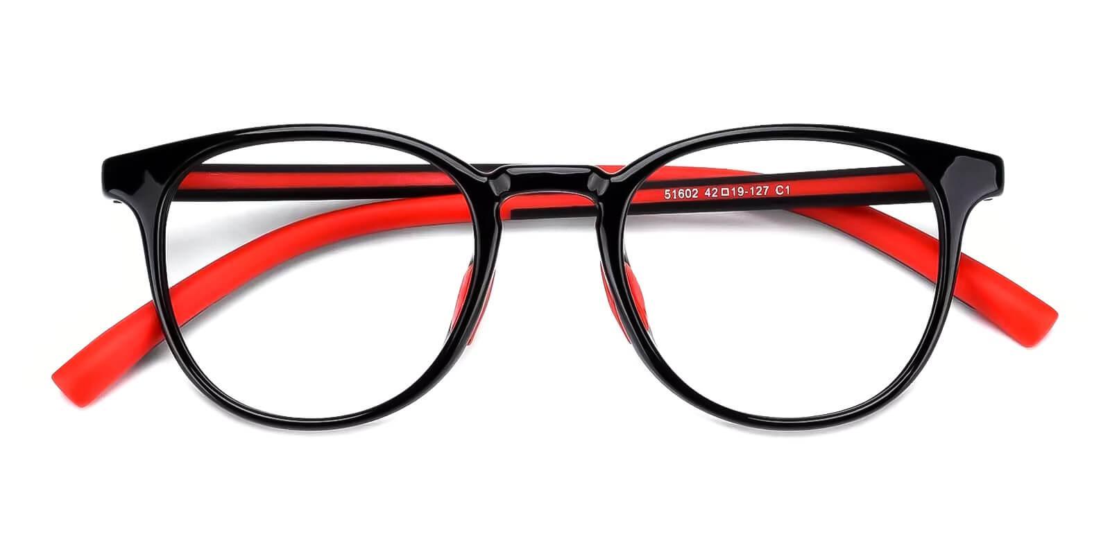 Kids-Experience Red Plastic Eyeglasses , Fashion , UniversalBridgeFit Frames from ABBE Glasses