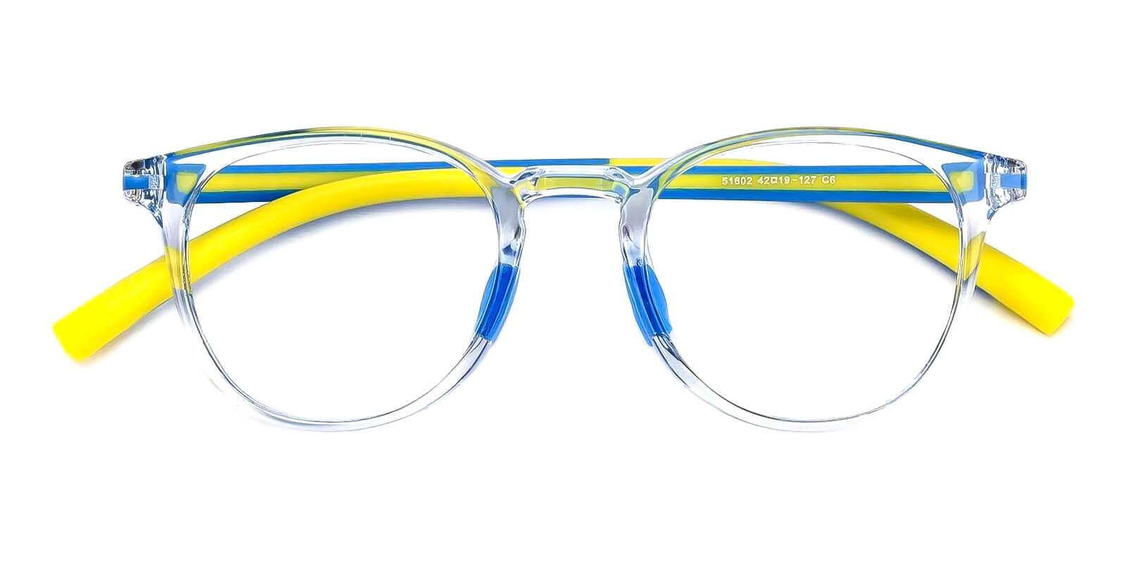 Kids-Experience Translucent Plastic Eyeglasses , Fashion , UniversalBridgeFit Frames from ABBE Glasses