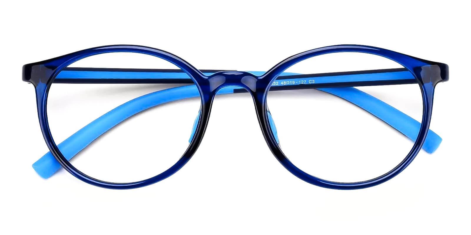 Kids-Momentous Blue Plastic Eyeglasses , Fashion , UniversalBridgeFit Frames from ABBE Glasses