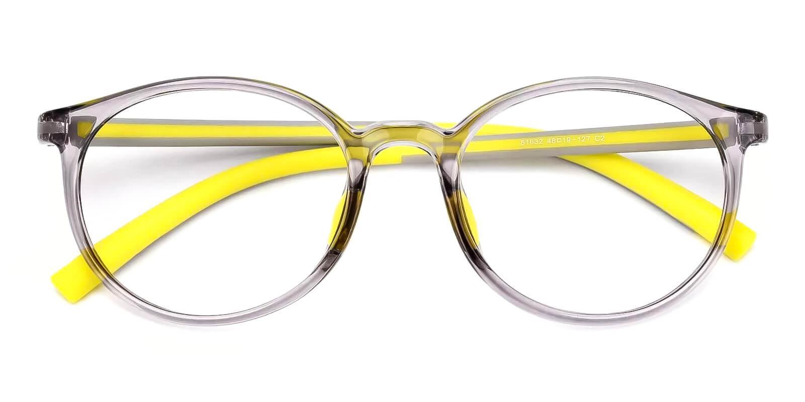 Kids-Momentous Gray Plastic Eyeglasses , Fashion , UniversalBridgeFit Frames from ABBE Glasses