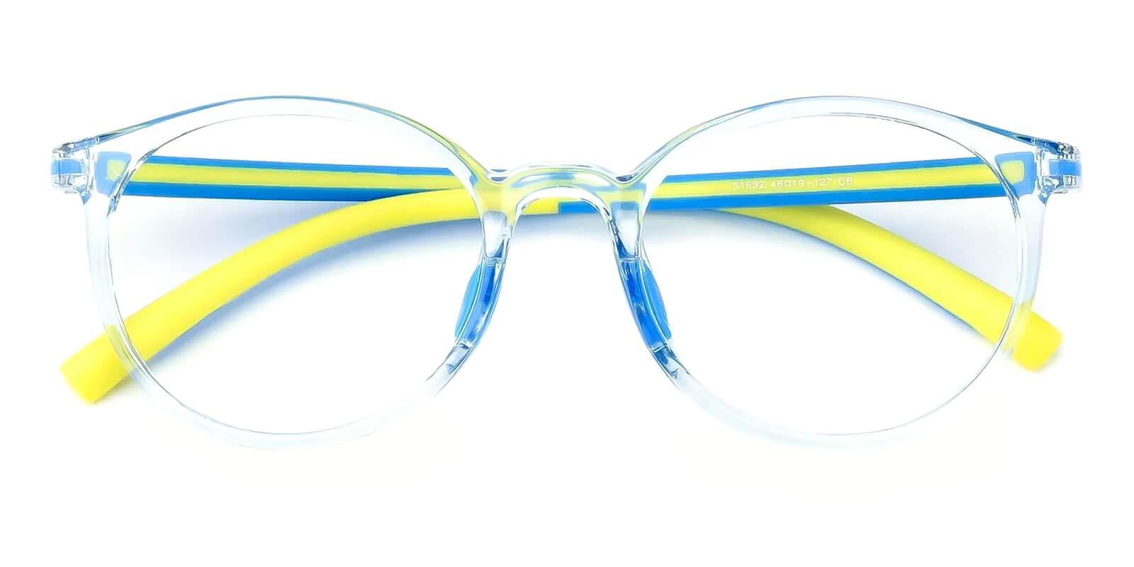 Kids-Momentous Translucent Plastic Eyeglasses , Fashion , UniversalBridgeFit Frames from ABBE Glasses
