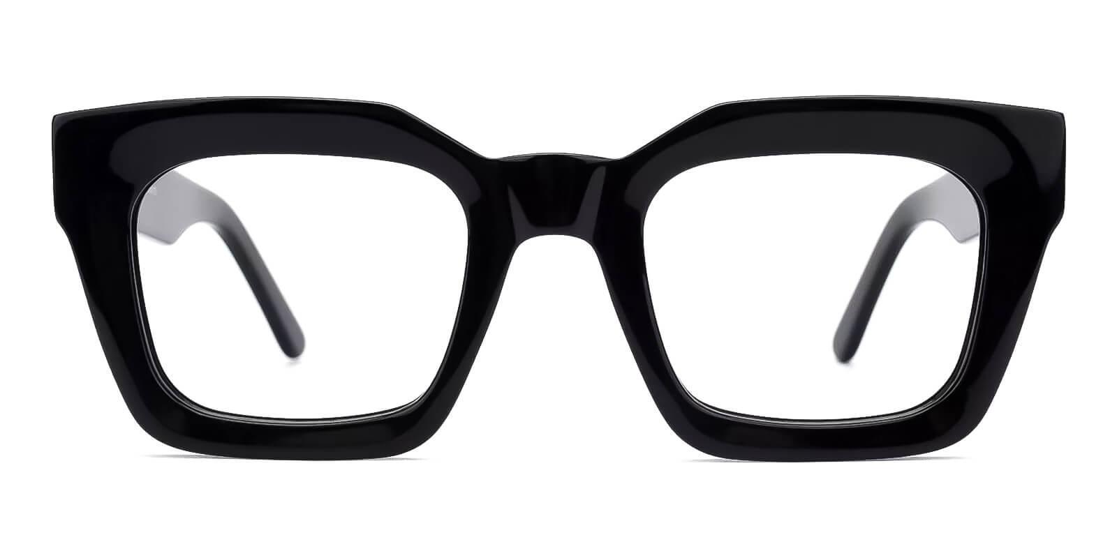 Cloud Black Acetate Eyeglasses , Fashion , UniversalBridgeFit Frames from ABBE Glasses