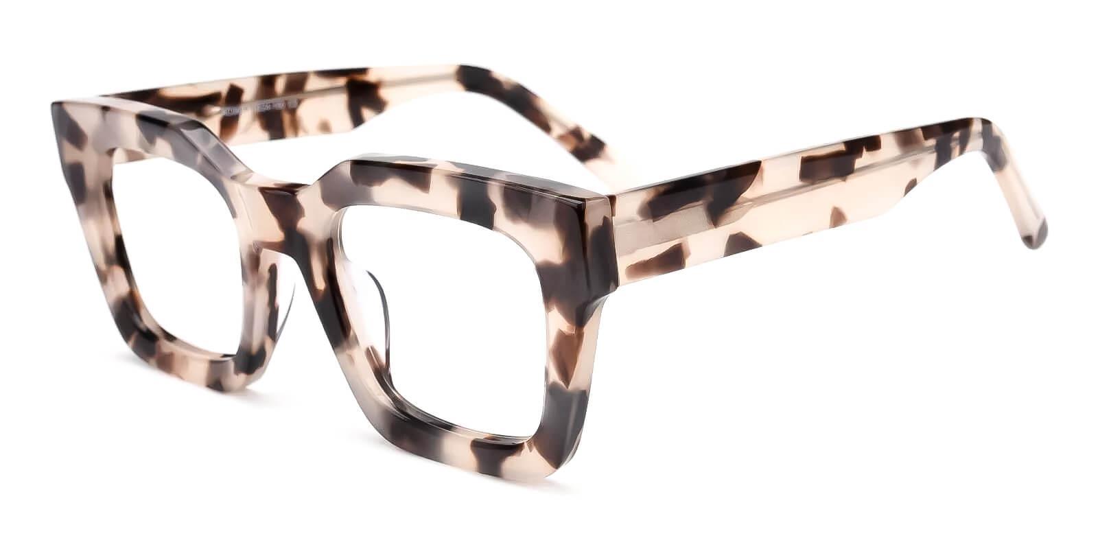 Cloud Leopard Acetate Eyeglasses , Fashion , UniversalBridgeFit Frames from ABBE Glasses