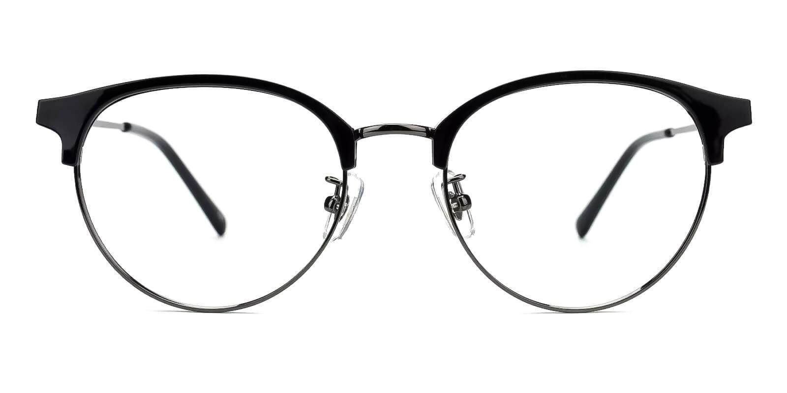 Similar Black Metal Eyeglasses , Fashion , NosePads Frames from ABBE Glasses