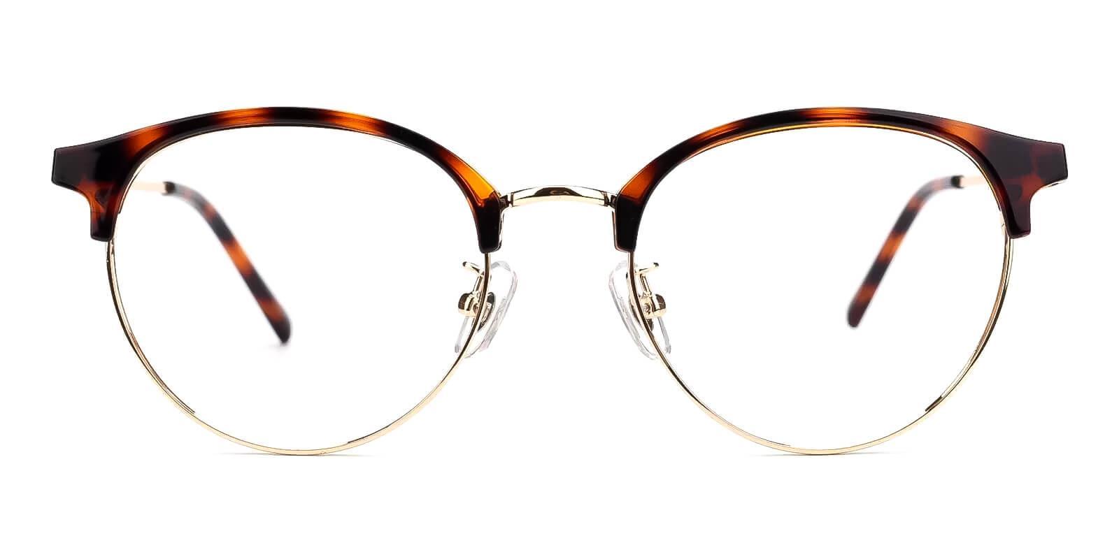 Similar Tortoise Metal Eyeglasses , Fashion , NosePads Frames from ABBE Glasses