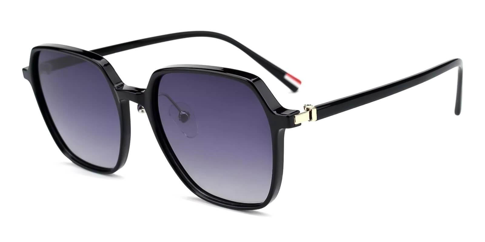 Wonder Black TR Fashion , NosePads , Sunglasses Frames from ABBE Glasses