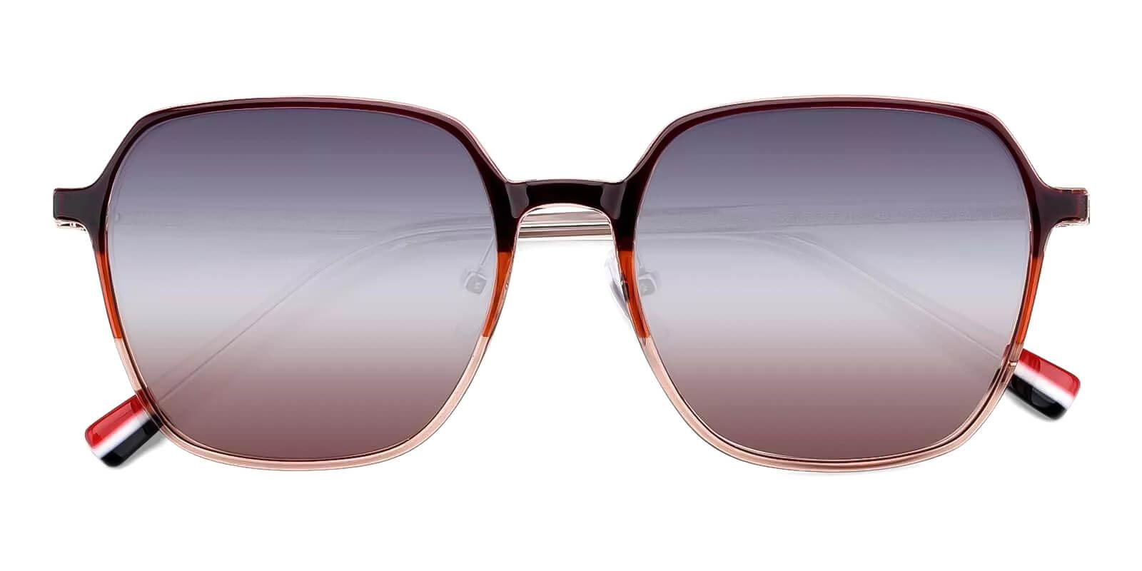 Wonder Brown TR Fashion , NosePads , Sunglasses Frames from ABBE Glasses