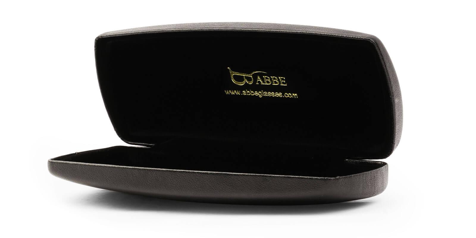 Deluxe Eyeglasses Case Black   Frames from ABBE Glasses