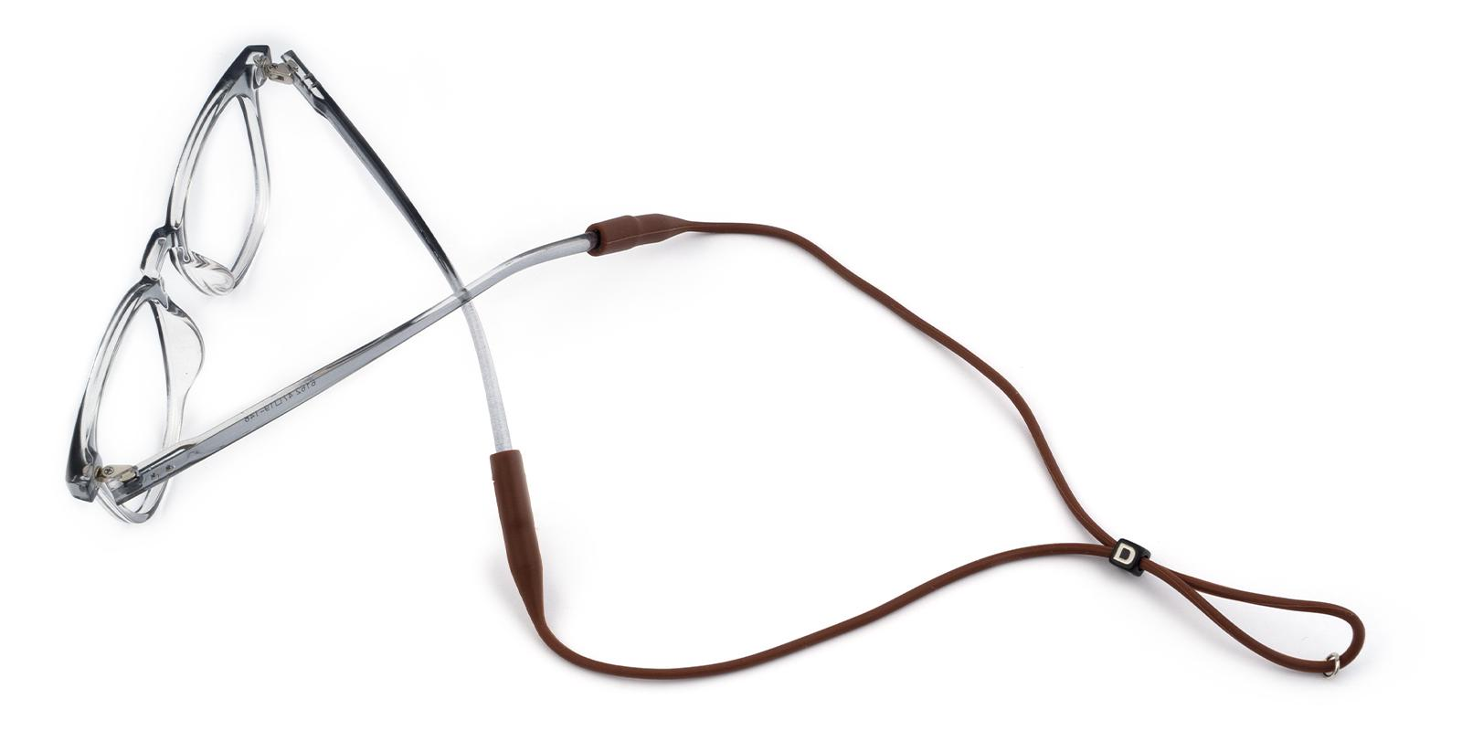 Glasses Chain Brown   Frames from ABBE Glasses
