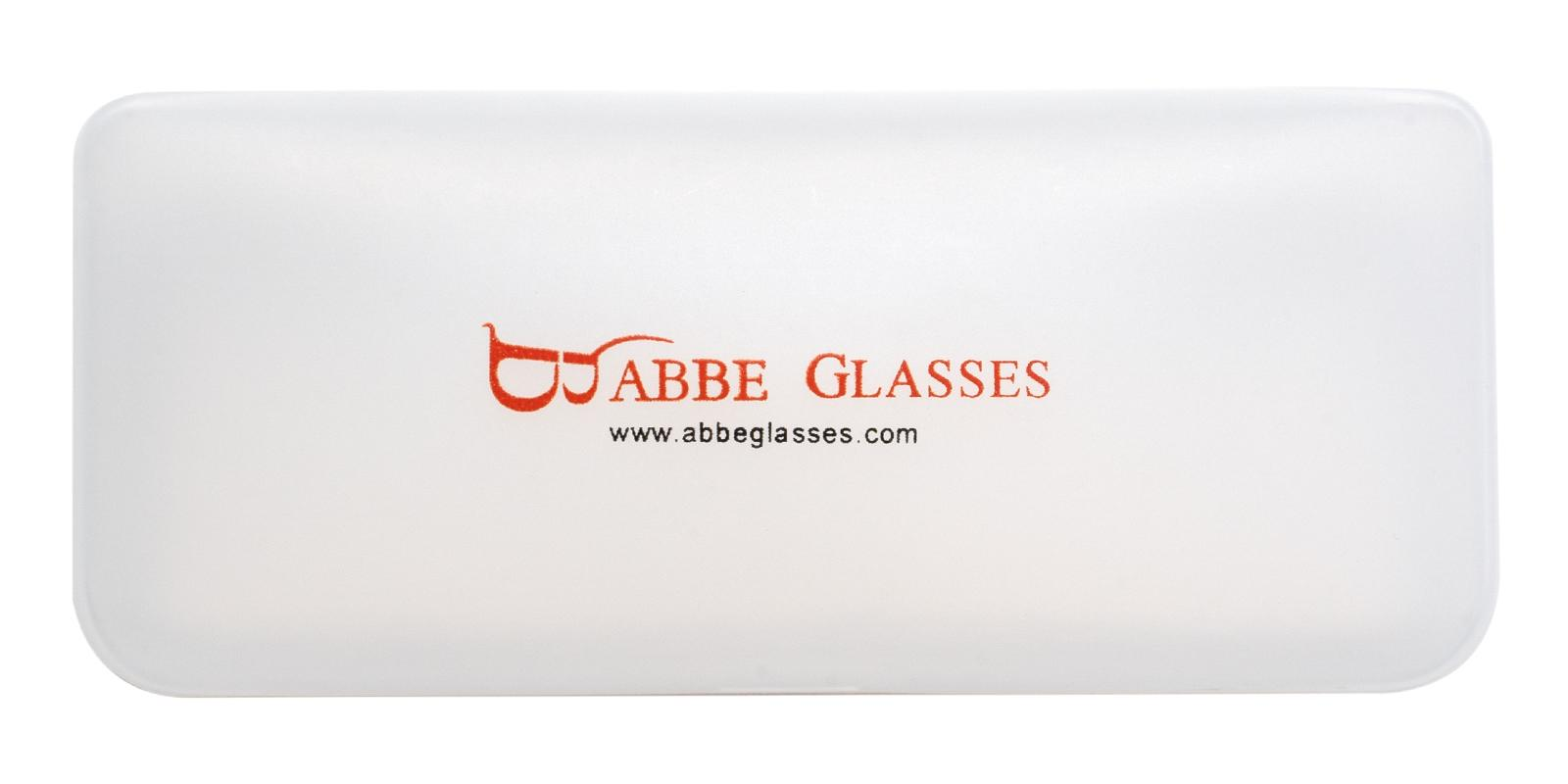 Sunglasses Case Translucent   Frames from ABBE Glasses