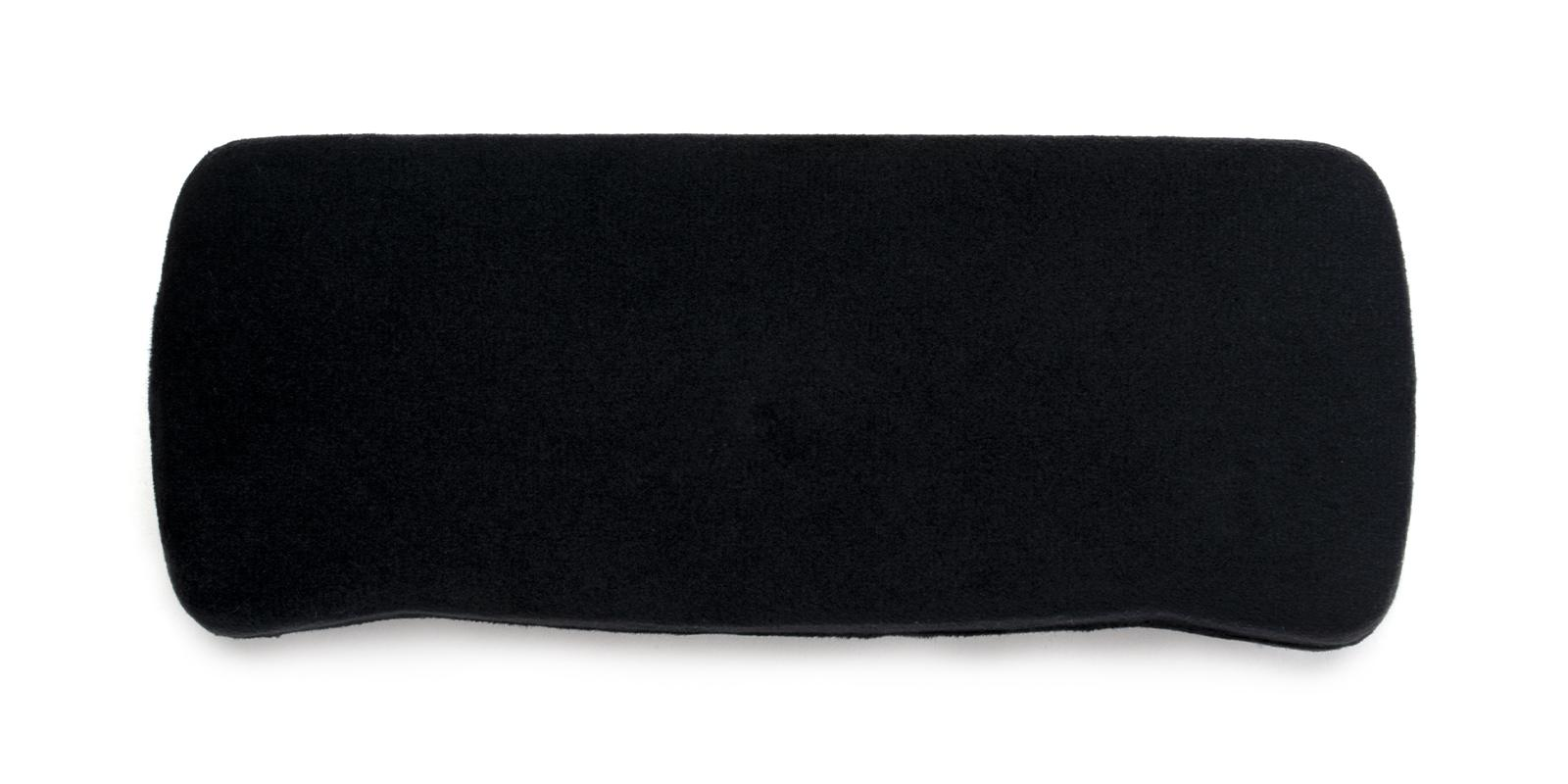 Velvet Glasses Case Black   Frames from ABBE Glasses