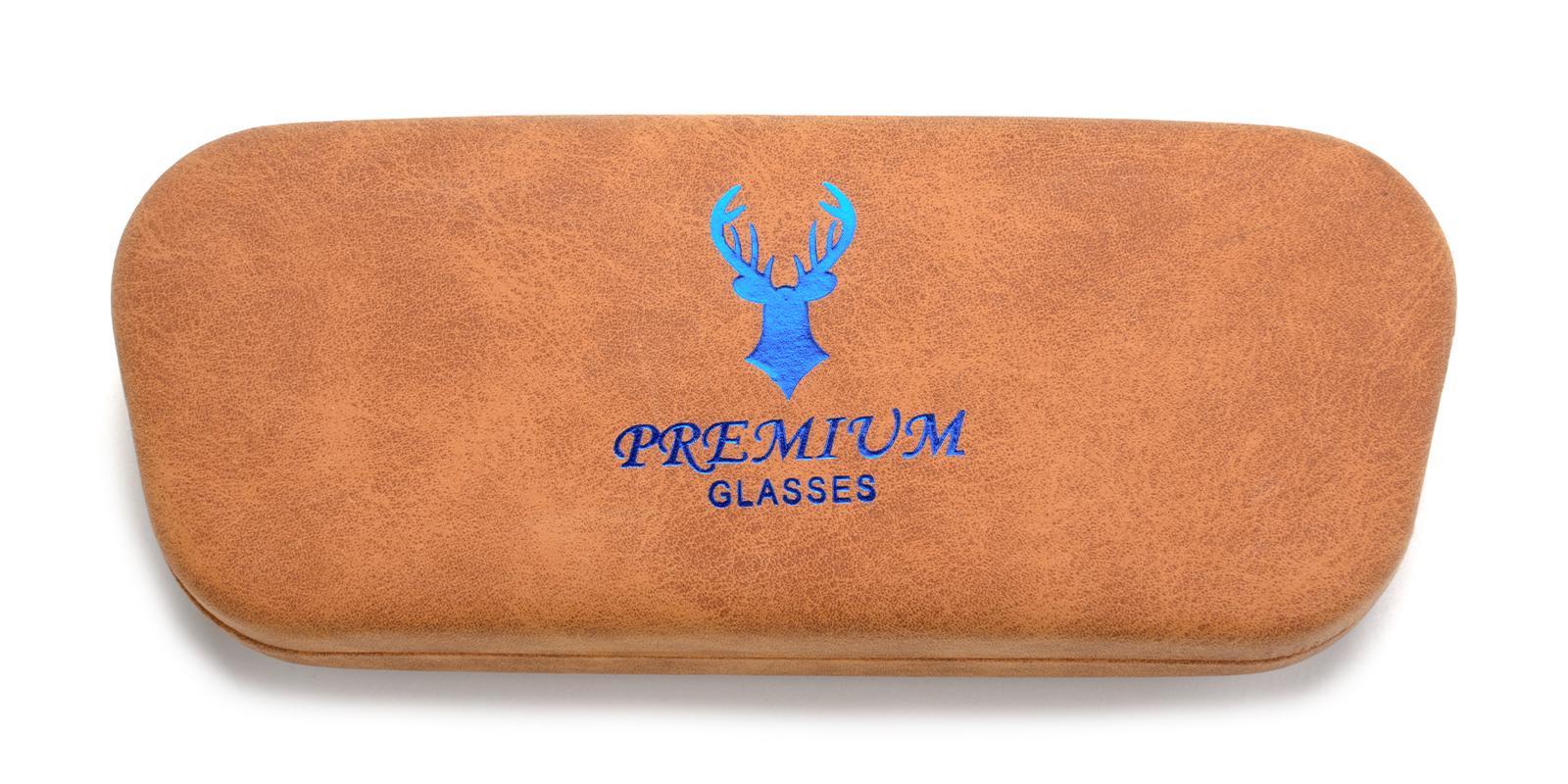 Deer Glasses Case Brown   Frames from ABBE Glasses