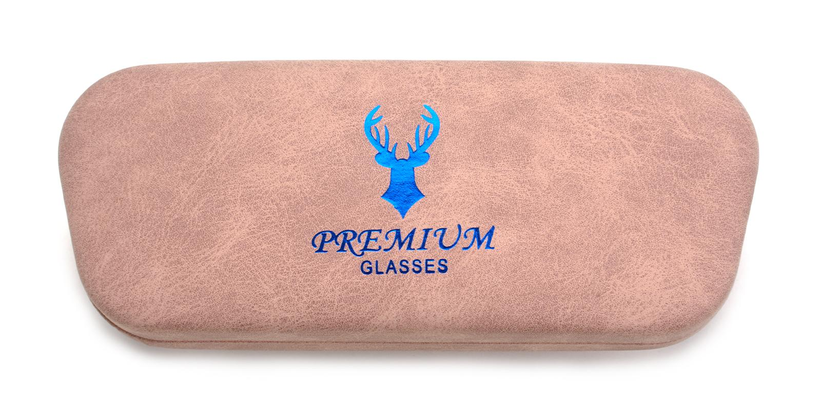 Deer Glasses Case Pink   Frames from ABBE Glasses