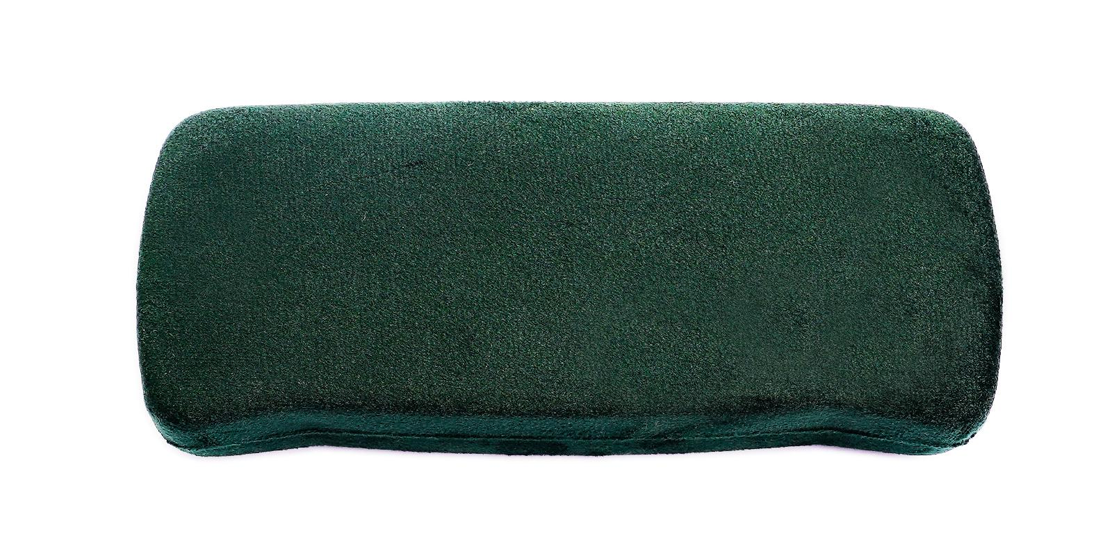 Velvet Glasses Case Green   Frames from ABBE Glasses