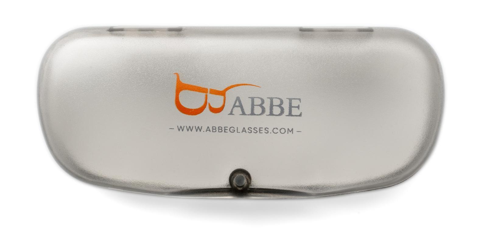 Eyeglasses Case Gray   Frames from ABBE Glasses