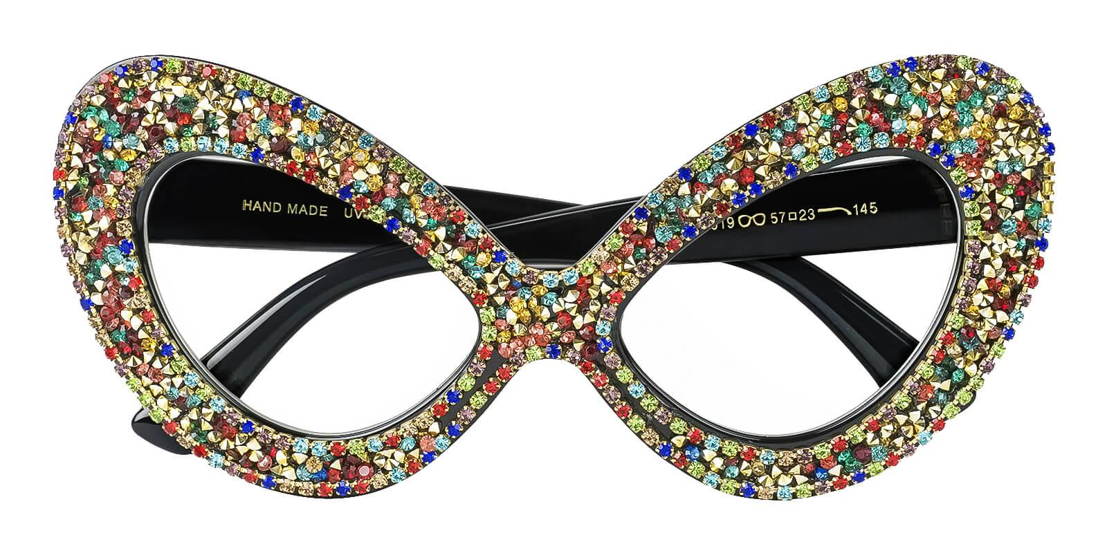 Modest Multicolor   Frames from ABBE Glasses