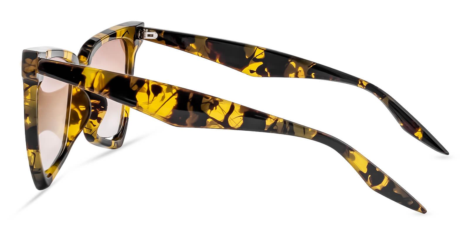 Lamarr Leopard   Frames from ABBE Glasses