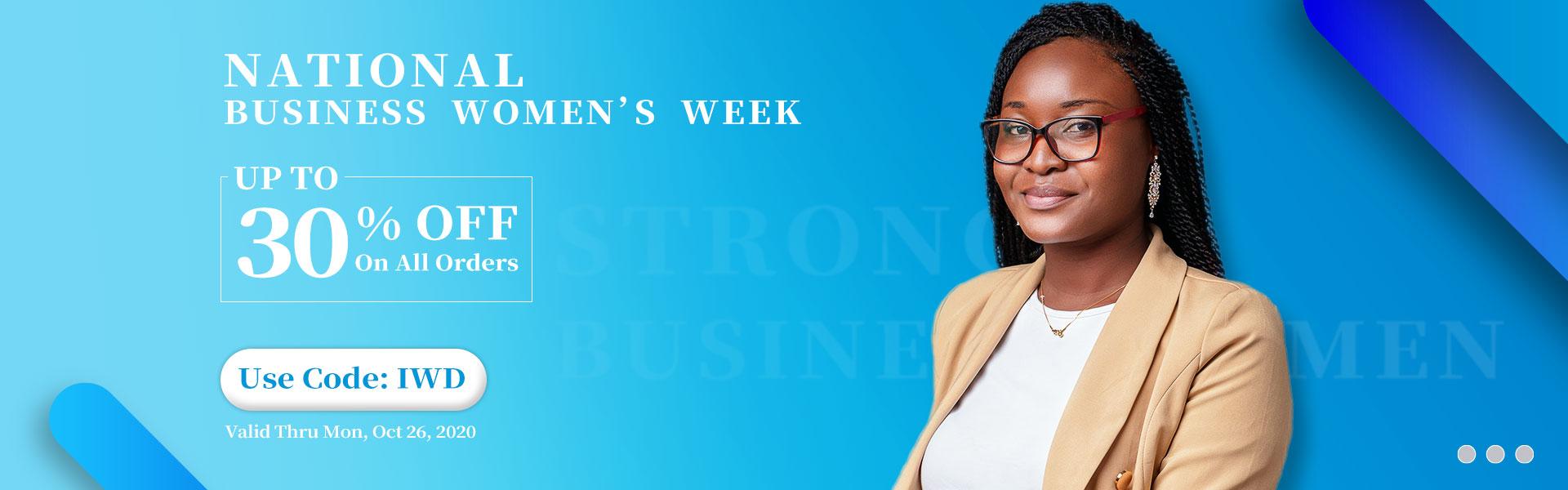 National Business  Women's  Week